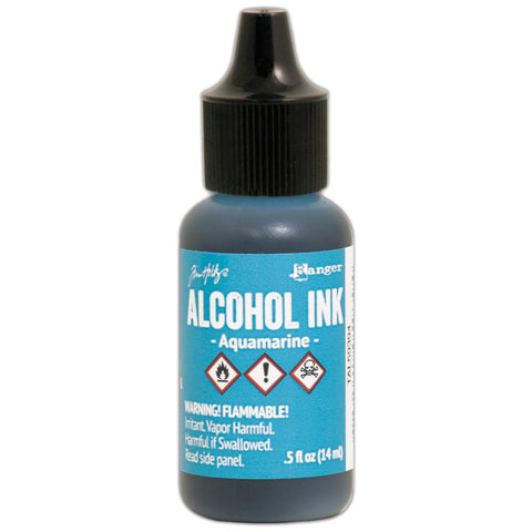 Ranger - Tim Holtz Alcohol Ink .5oz - Aquamarine