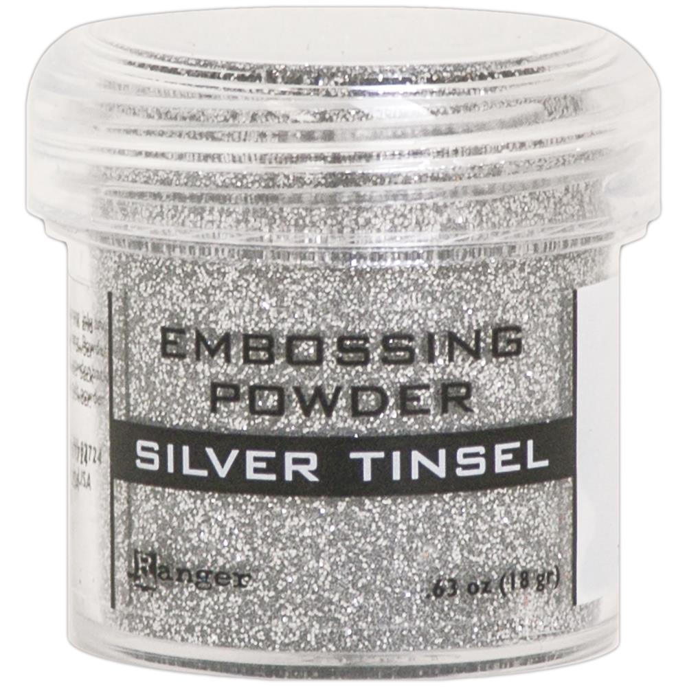 Ranger - Embossing Powder - Silver Tinsel