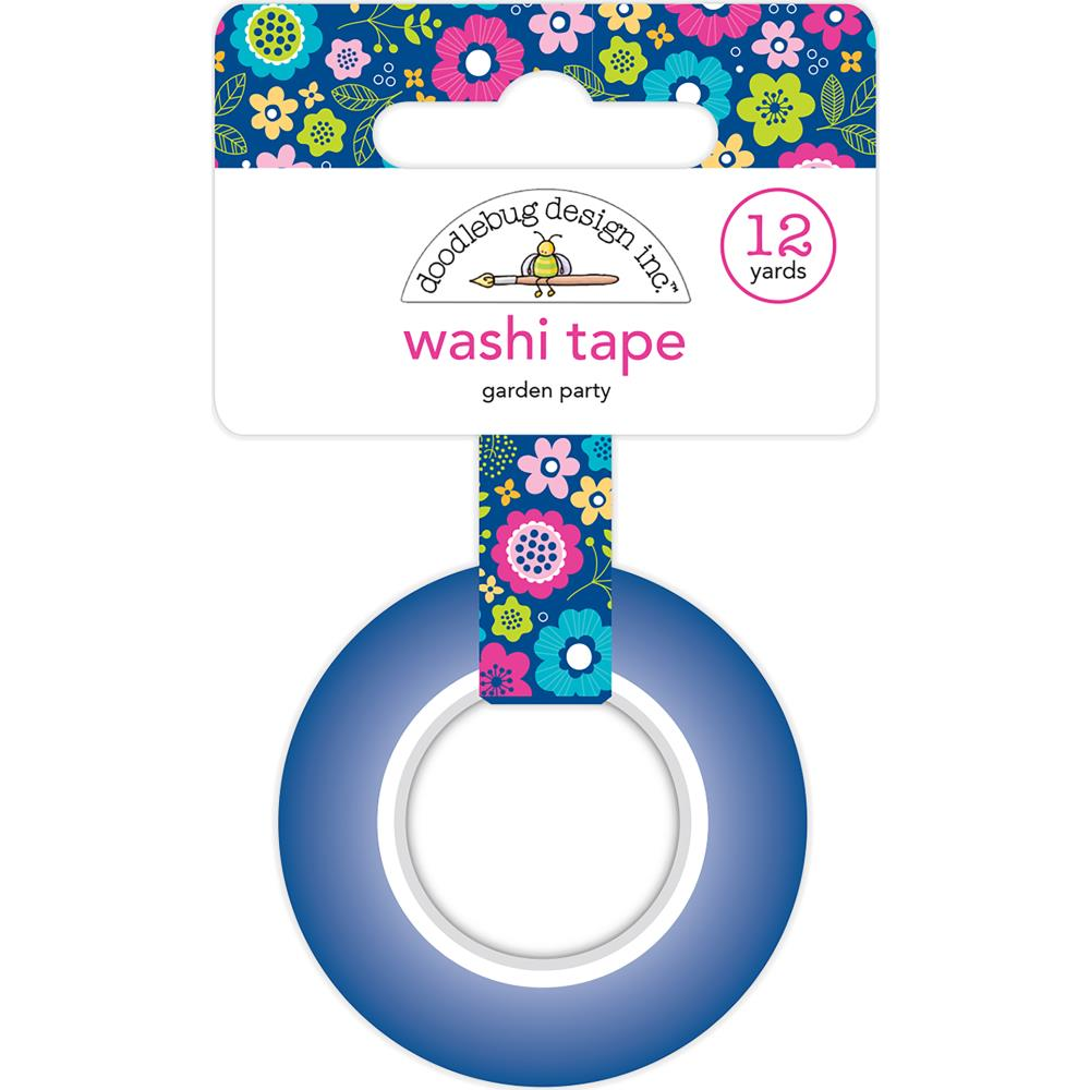 Doodlebug Washi Tape 15mmx12yd - Garden Party