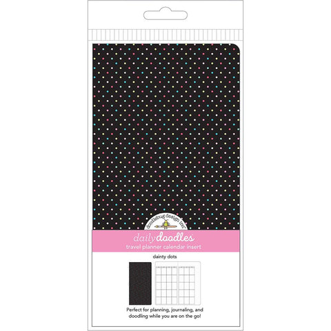 Doodlebug - Planner Inserts - Dainty Dots Daily Doodles Calendar