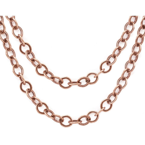Advantus - Tim Holtz Assemblage Metal Chain 1/Pkg - Copper 18""