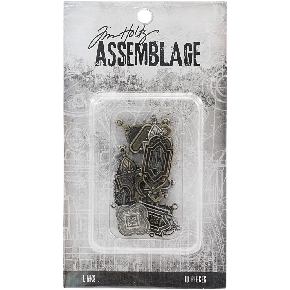 Advantus - Tim Holtz Assemblage Links 10pcs - Art Deco