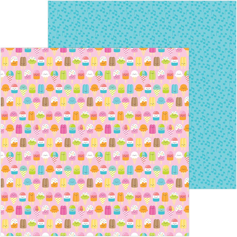 "Doodlebug - Sweet Summer Double-Sided Cardstock 12""X12"" - Sweet Summer"
