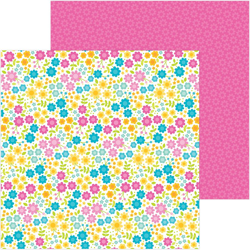 "Doodlebug - Sweet Summer Double-Sided Cardstock 12""X12"" - Summer Paradise"