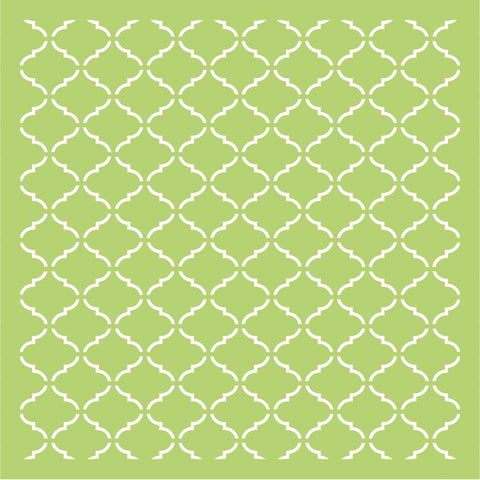 "Kaisercraft - Designer Template 6""X6"" - Lattice"