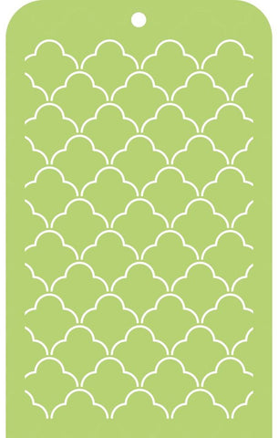 Kaisercraft - Memory Lane Mini Designer Templates - Scallop Lattice