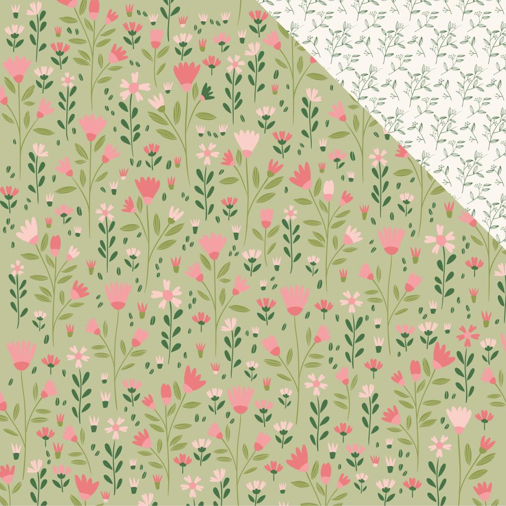 "Kaisercraft - Full Bloom Double-Sided Cardstock 12""X12"" - Blossoming"