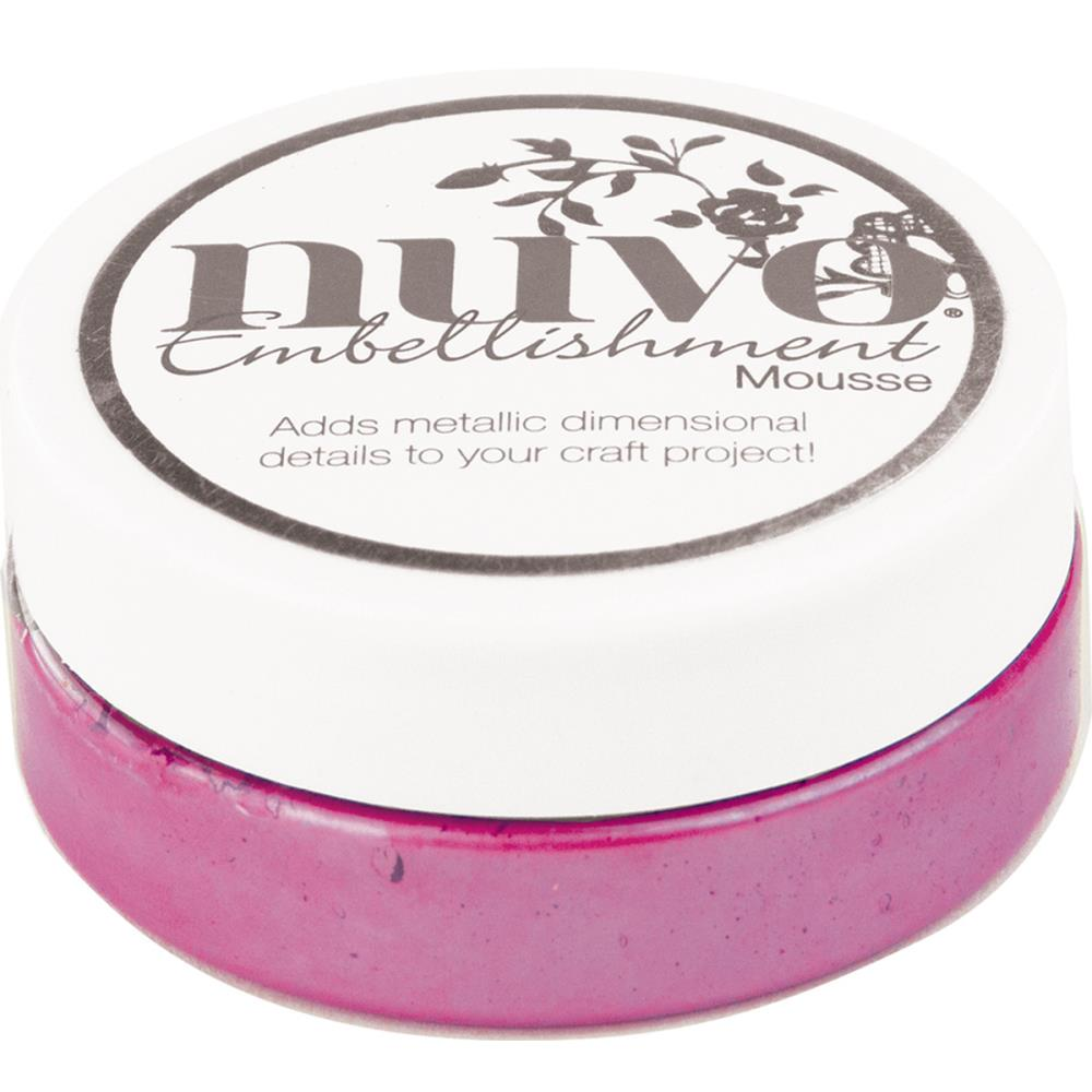 Tonic Studios - Nuvo Embellishment Mousse - Triple Berry