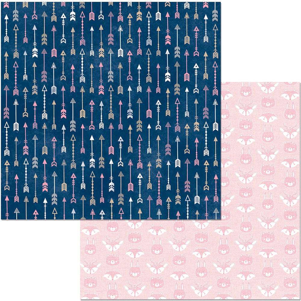 "BoBunny - Little Wonders Double-Sided Cardstock 12""X12"" - Zoey"