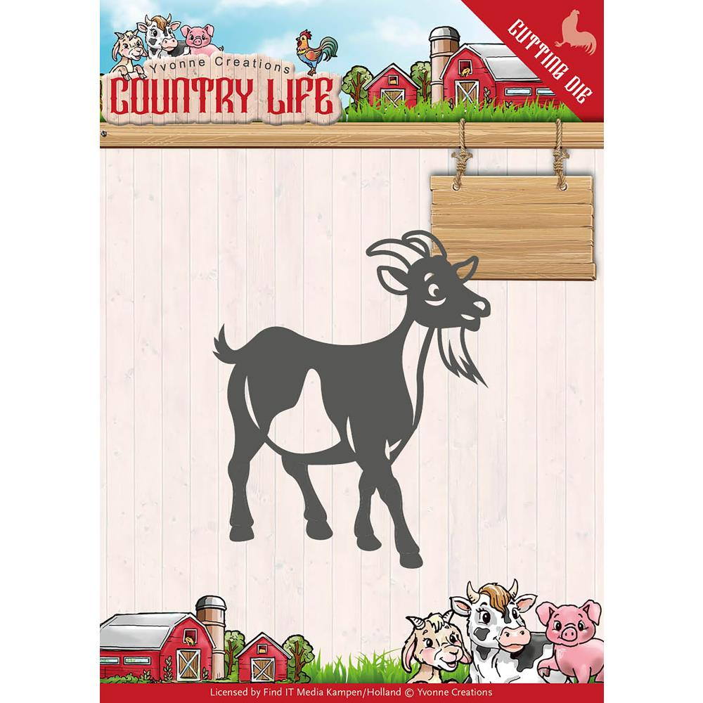 Find It Trading -  Yvonne Creations Country Life Die - Goat