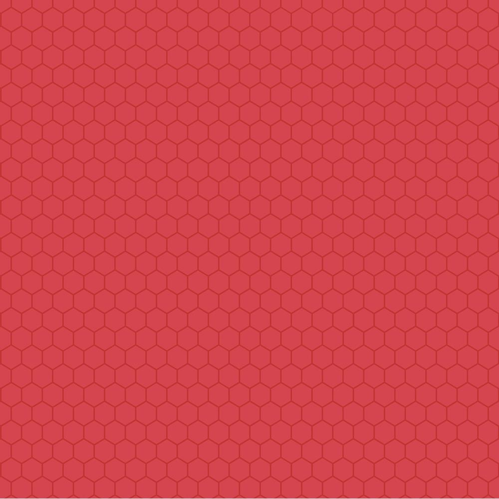 "Core'dinations Core Basics Patterned Cardstock 8.5""X11"" - Red Honeycomb"