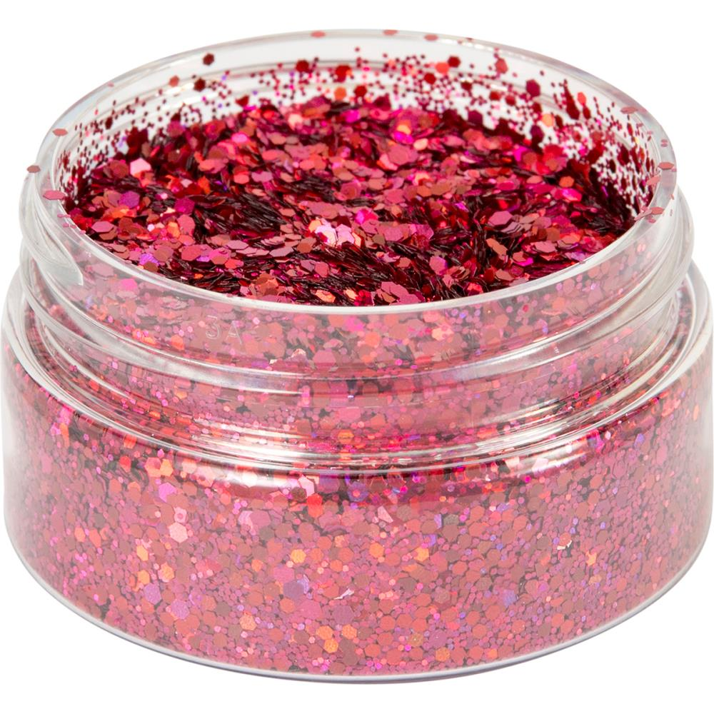 Creative Expressions - Cosmic Shimmer Holographic Glitterbitz - Cherry Red