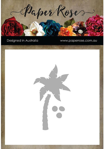 Paper Rose - Dies - Small Palm Tree