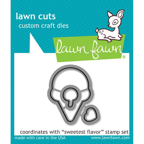 (Pre Order) Lawn Fawn - Lawn Cuts Custom Craft Die -  Sweetest Flavor