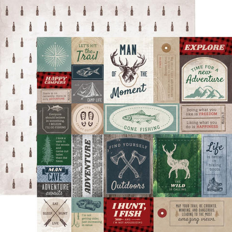 "***Pre-Order*** Kaisercraft - Mountain Air Double-Sided Cardstock 12""x12"" - Hero"