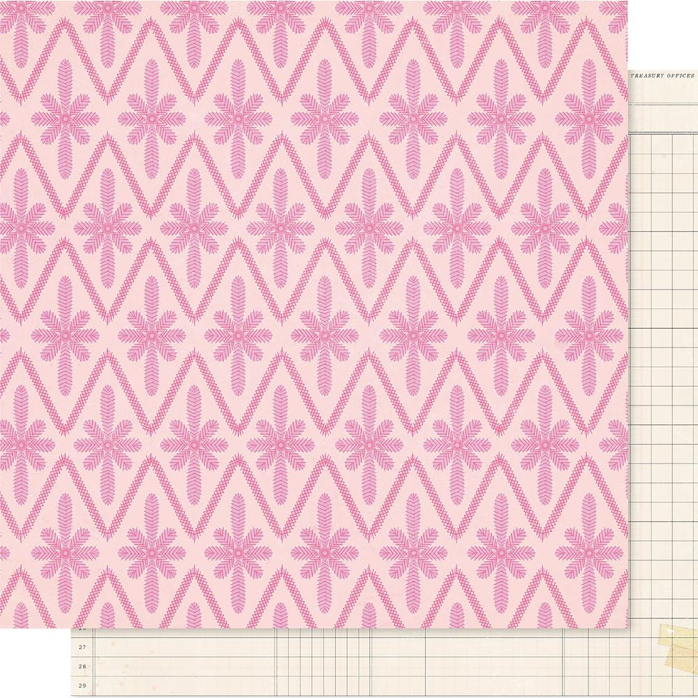"Crate Paper - Maggie Holmes Willow Lane Double-Sided Cardstock 12""X12"" - Adore"