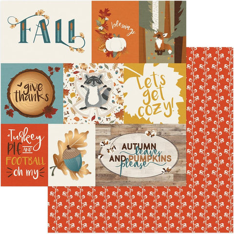 Photoplay Paper - Fall Breeze Double-Sided Cardstock - Let's Get Cozy