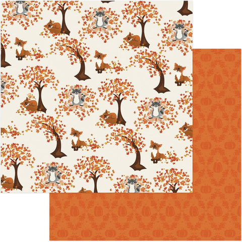 ***Pre-Order*** Photoplay Paper - Fall Breeze Double-Sided Cardstock - Leaf Play
