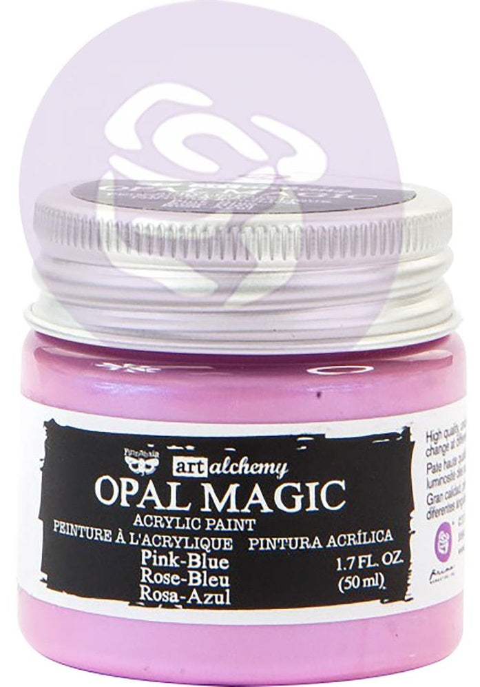 Prima Marketing - Finnabair Art Alchemy Opal Magic Acrylic Paint - Pink/Blue