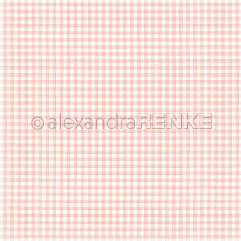 "Alexandra Renke - Cooking Paper 12""X12"" - Kitchen Square Rose"