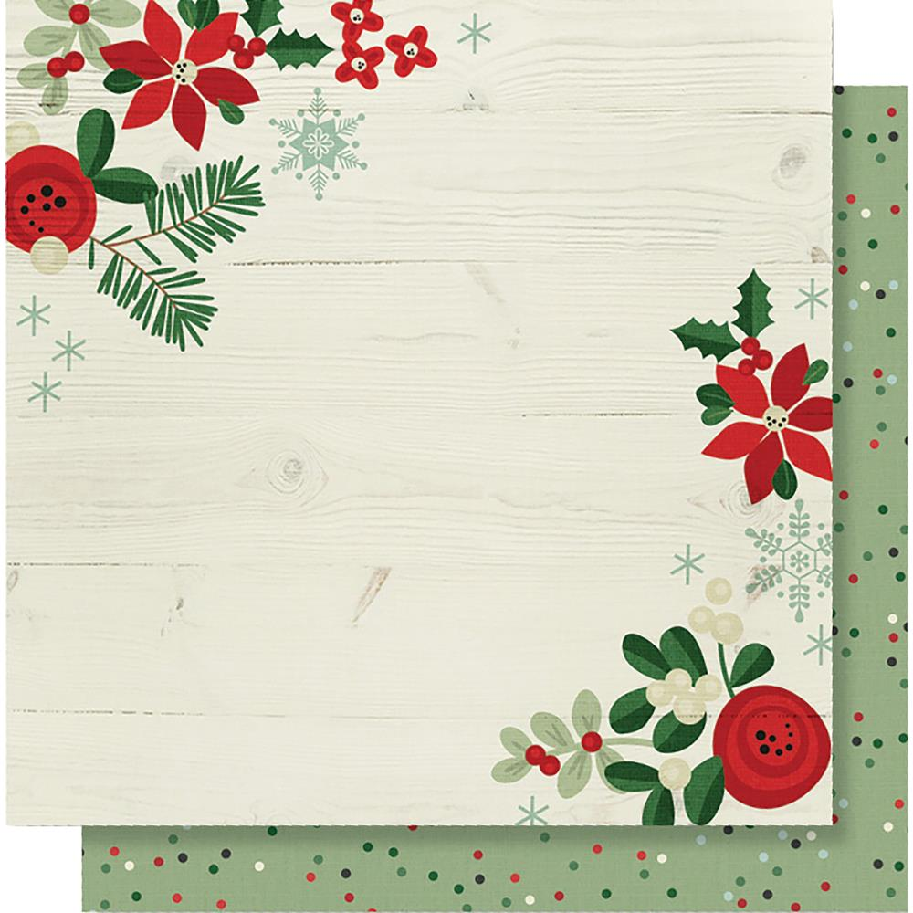 "Simple Stories - Merry & Bright Double-Sided Cardstock 12""X12"" - Holiday Memories"