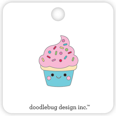 (Pre Order) Doodlebug - Collectible Enamel Pin - Cupcake