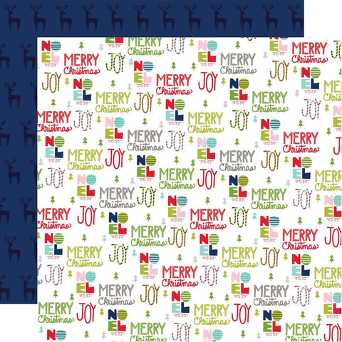 "Bella Blvd - Merry Christmas Double-Sided Cardstock 12""X12"" - Sing It Loud"
