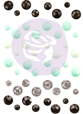 ***Pre-Order*** Prima Marketing - Flirty Fleur Say It In Crystals Adhesive Embellishments