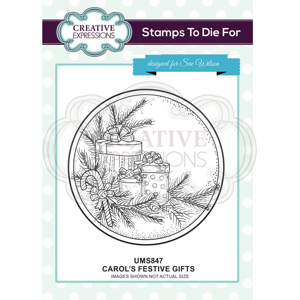 Creative Expressions - Stamps To Die For By Sue Wilson - Carol's Festive Gifts