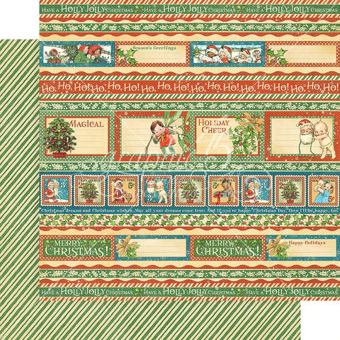 "Graphic 45 - Christmas Magic Double-Sided Cardstock 12""X12"" -  Gifting Gala"