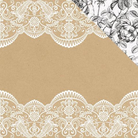 "(Pre Order) Kaisercraft - Everlasting Double-Sided Cardstock 12""X12"" - One & Only"