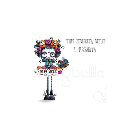 (Pre Order) Stamping Bella - Cling Stamps - Day Of The Dead Oddball