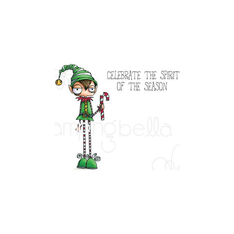 (Pre Order) Stamping Bella - Cling Stamps - Oddball Boy Elf
