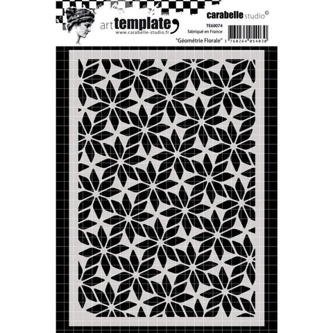 Carabelle - Studio Template A6 - Floral Geometry