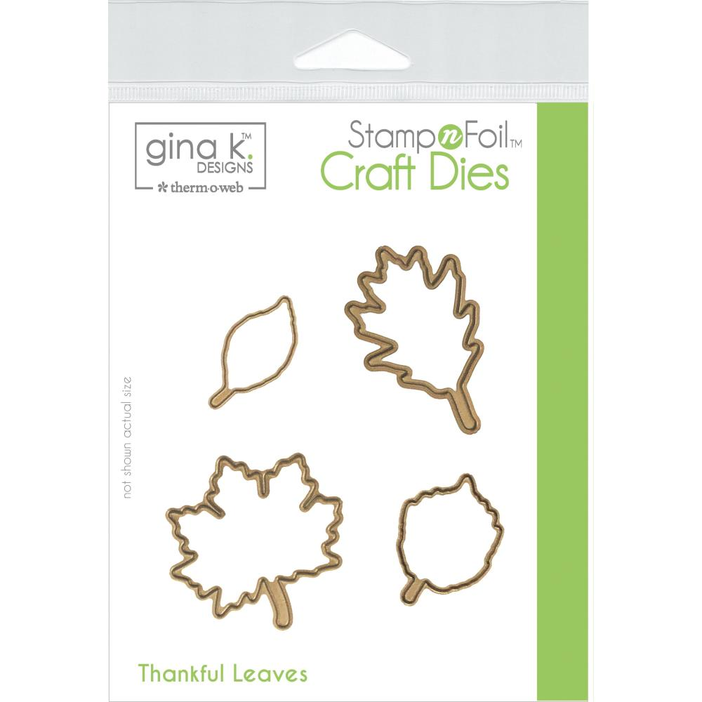 Gina K Designs - Die Set - Thankful Leaves