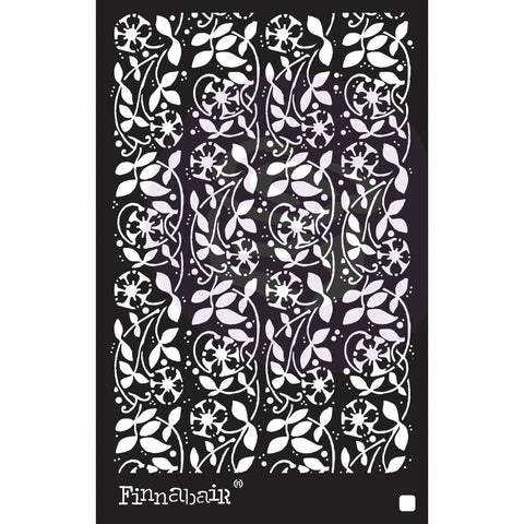 "(Pre Order) Prima Marketing - Finnabair Stencil 6""X9""- Passiflora"