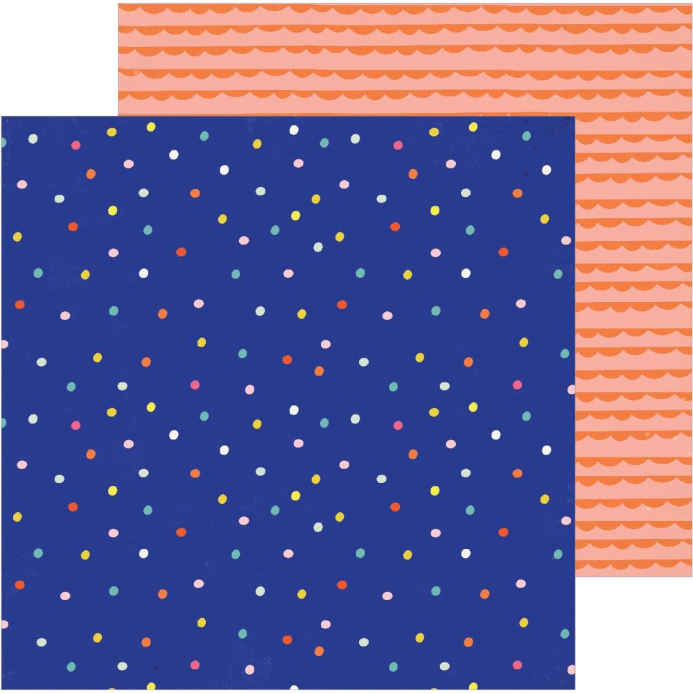 "Crate Paper - Hooray Double-Sided Cardstock 12""X12"" - Sprinkles"