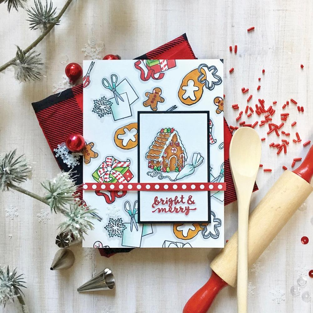 "Hero Arts - Clear Stamps 4""X6"" - In For The Holidays"