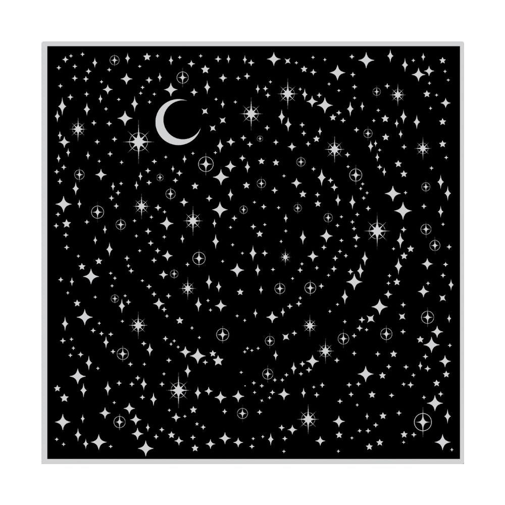 "Hero Arts - Cling Stamps 4.5""X5.75"" - Star Light Star Bright Bold Prints"