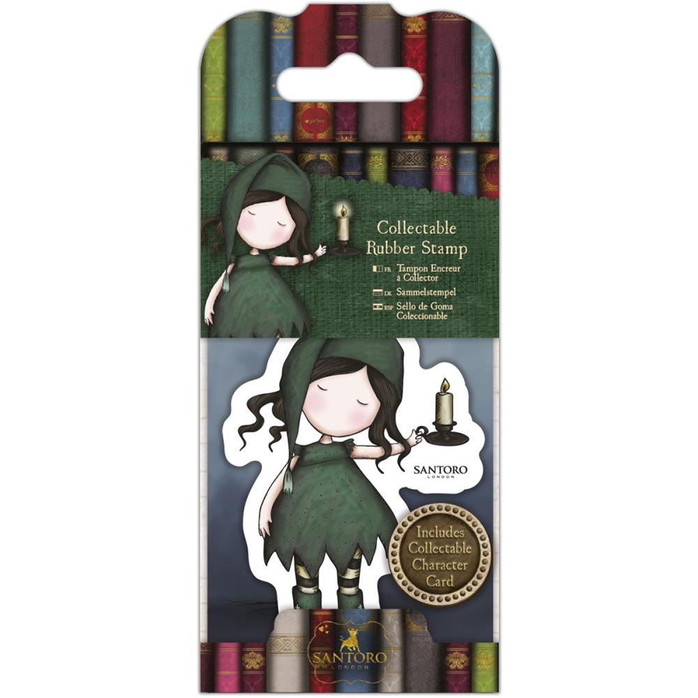 Santoro Gorjuss Collectable Rubber Stamps - No. 34 Nightlight