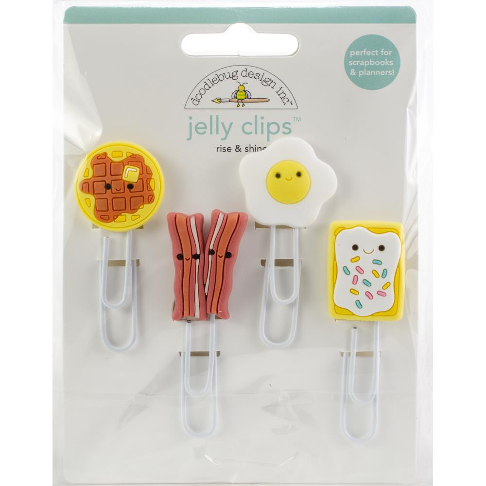 Doodlebug - Jelly Clips 4/Pkg - Rise and Shine
