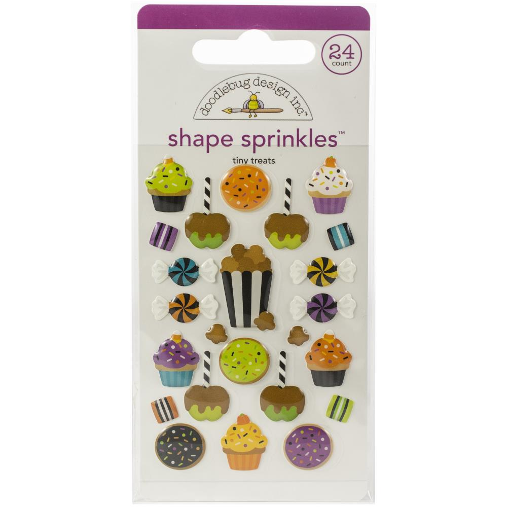 Doodlebug - Candy Carnival Shape Sprinkles - Tiny Treats