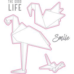 Richard Garay - Oragami Love Stamp & Die Set - Birds
