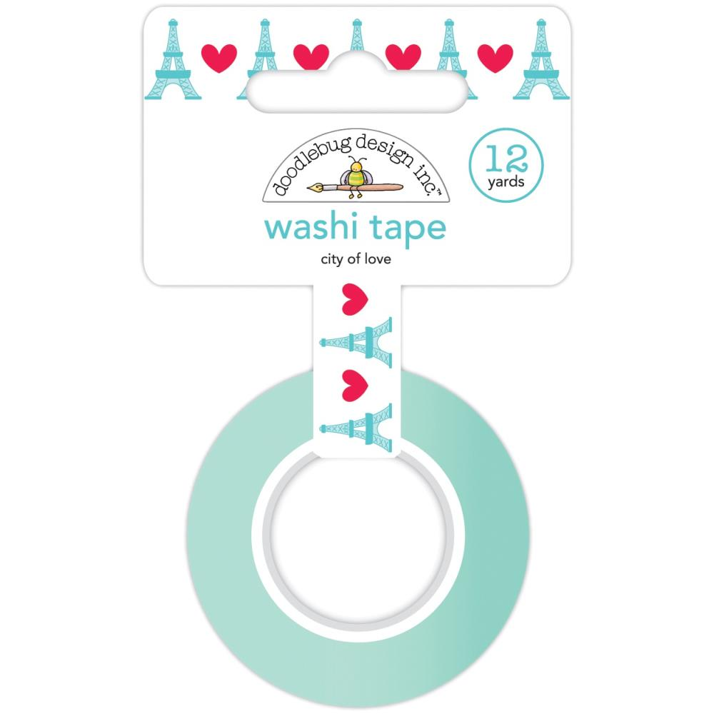 Doodlebug -  Washi Tape - City of Love