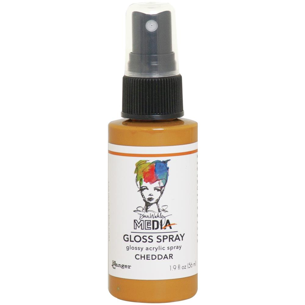 Dina Wakley Media - Gloss Spray - Cheddar