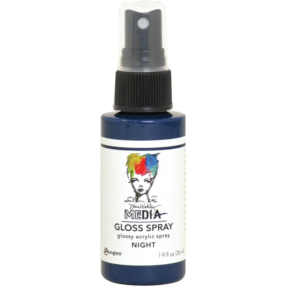 Dina Wakley Media - Gloss Spray - Night