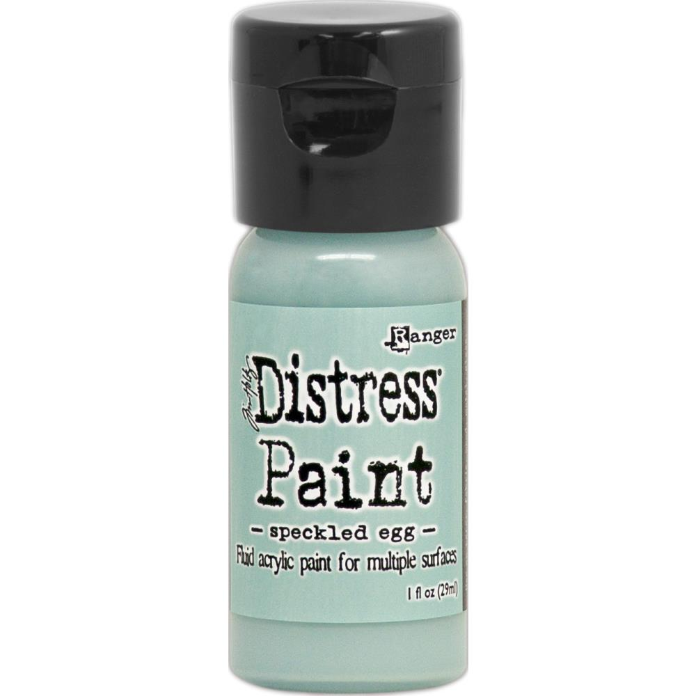 Ranger - Tim Holtz - Distress Paint Flip Cap 1oz - Speckled Egg