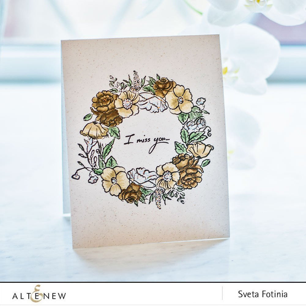 "Altenew - 6"" x 8"" Stamp Set - Recollections"