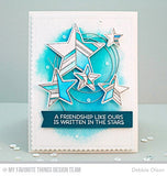 My Favorite Things - Clear Stamp Set - LJD Stars Above (coordinates with LJD Stars Above Die-namics)
