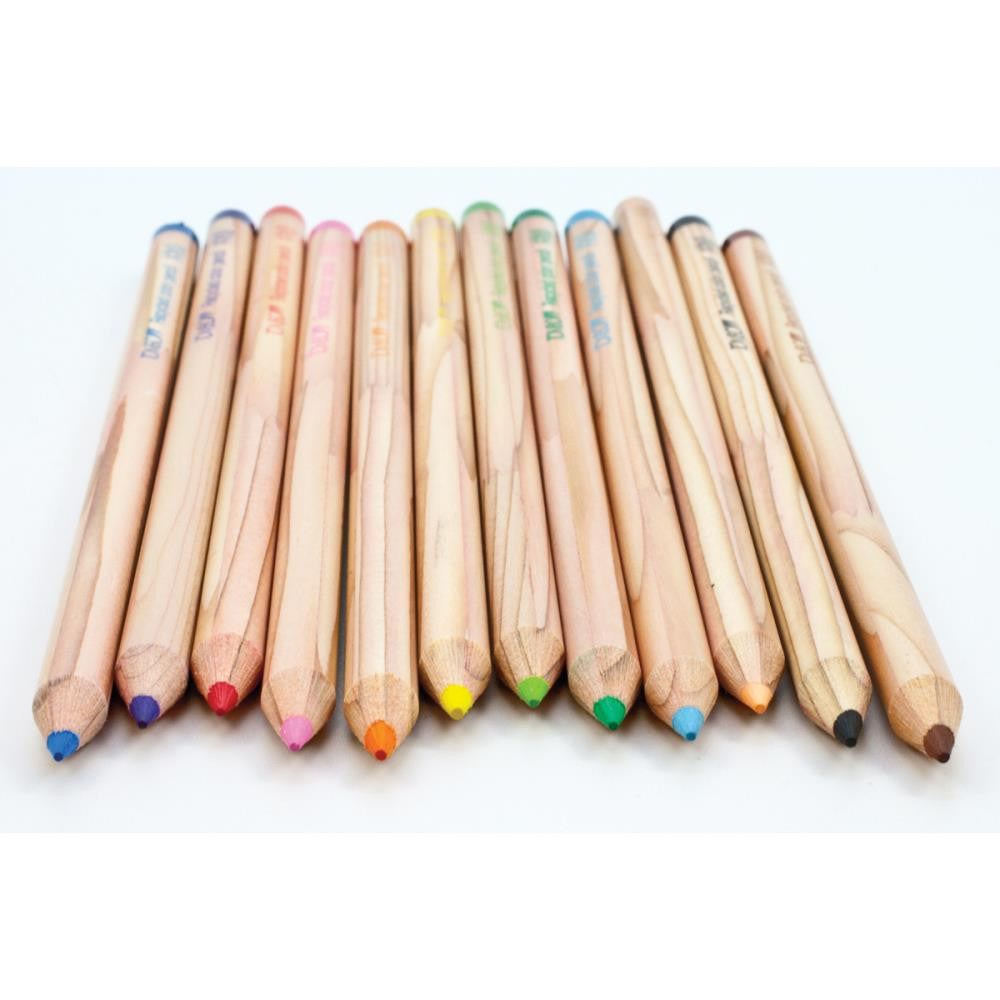 Tombow, Recycled Colored Pencils, 12/Pkg - Assorted Colors